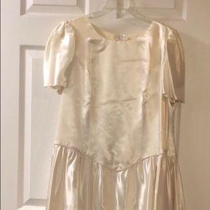 Satin Dress Bow with Petticoat